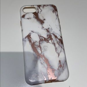 iPhone 6/7 marble case perfect condition